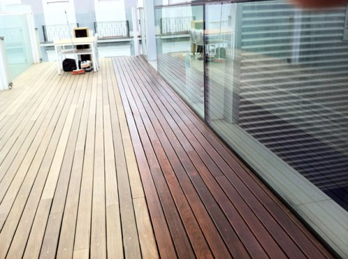 Suelos madera exterior perfect with suelos madera for Pavimento terraza exterior