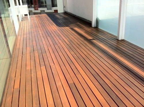 C mo arreglar un suelo de madera exterior sin morir en el - Suelos de madera para exterior ...