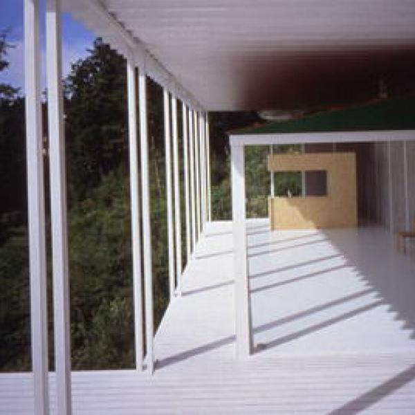 House Of Double Roof Shigeru Ban 02 600x600 c