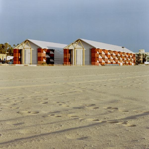 Museo Nómada Santa Monica Shigeru Ban 600x600 c