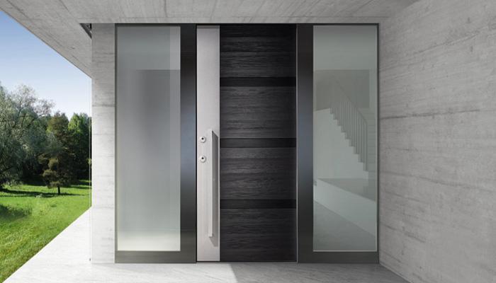 Puertas de entrada de seguridad timberplan for Puertas vivienda exterior