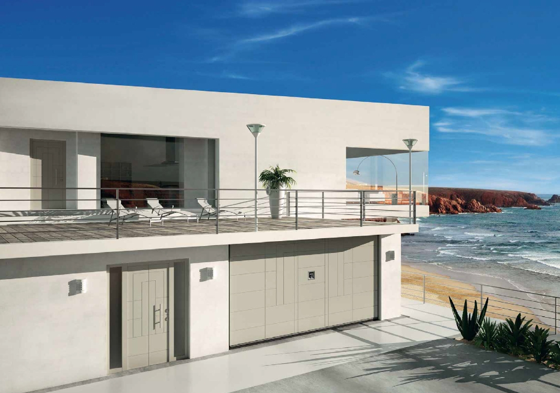 Silvelox puertas de seguridad timberplan for Puerta garaje
