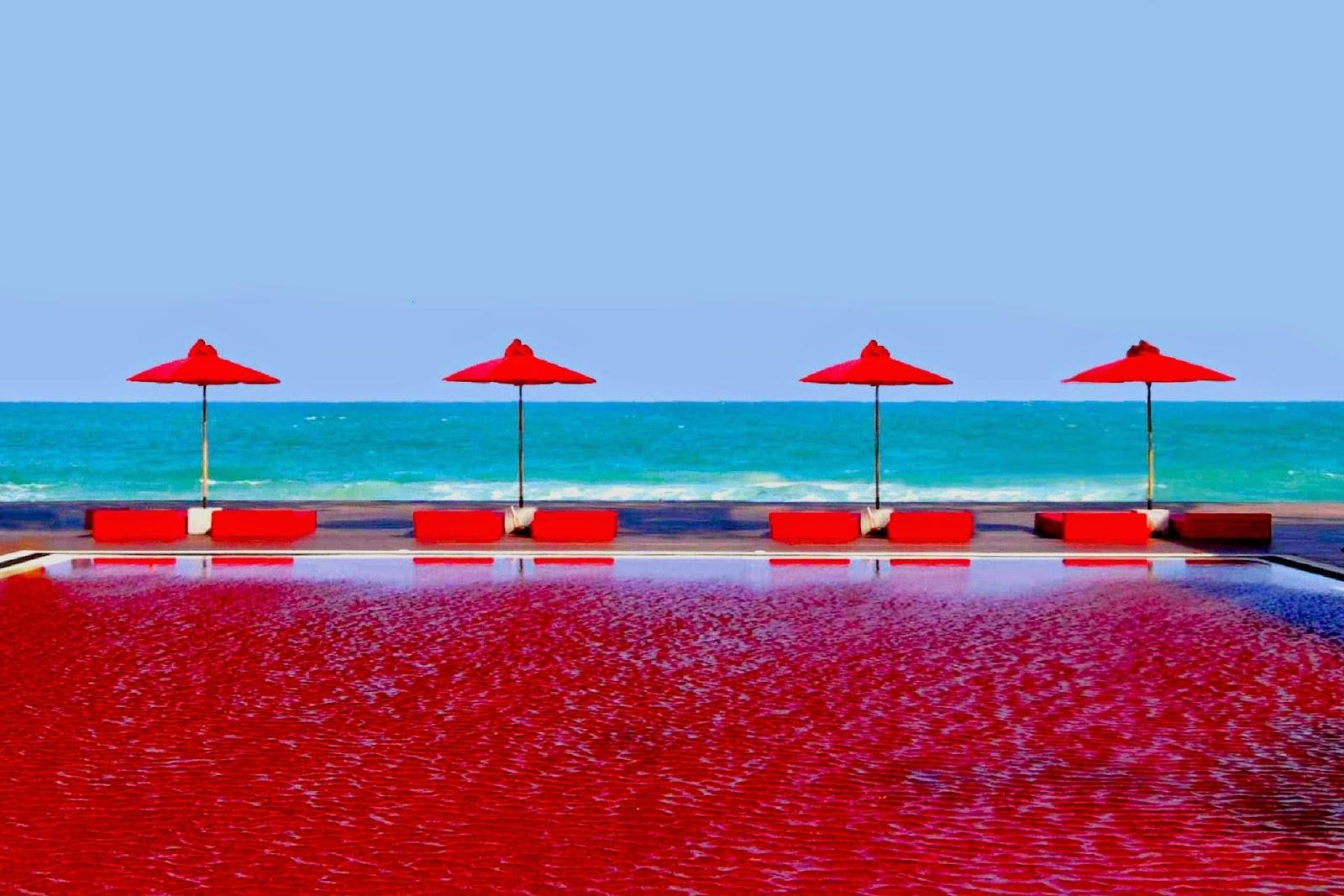Rojo transparente en hotel - 5 9