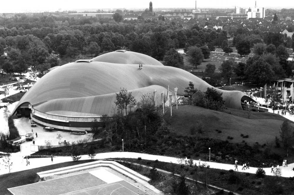 Frei Otto Roof for the Mannheim Multihalle 1000x662 c