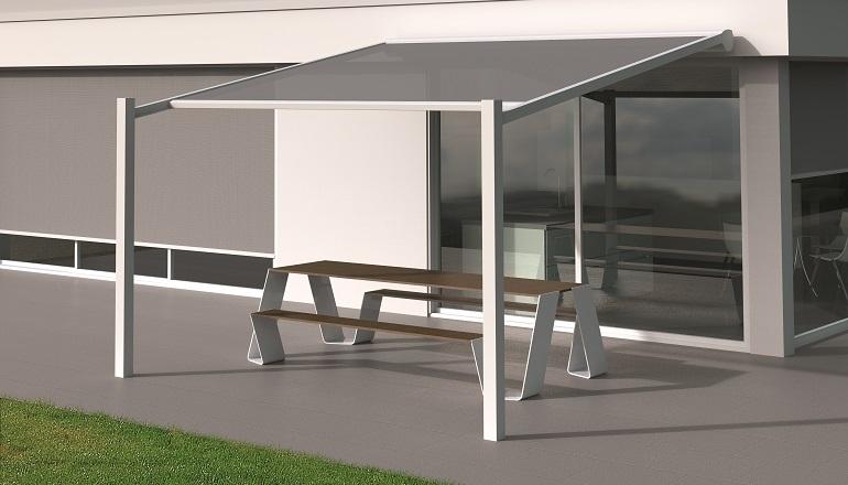 Renson lanza la p rgola para terrazas lagune pure for Techos sin estructura para casa