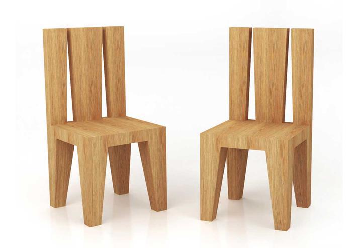 I massivi la colecci n de muebles de roble macizo de itlas timberplan - Oggetti design legno ...