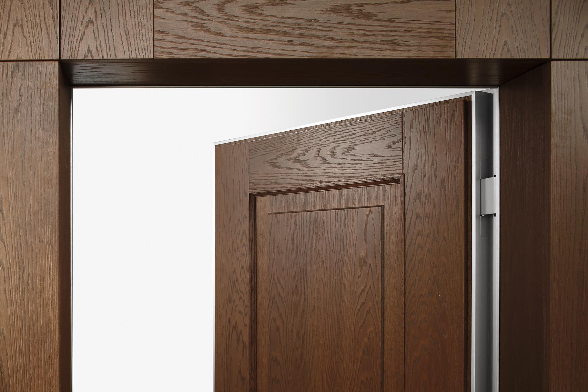 Puertas invisibles sin bisagra timberplan - Bisagras para madera ...