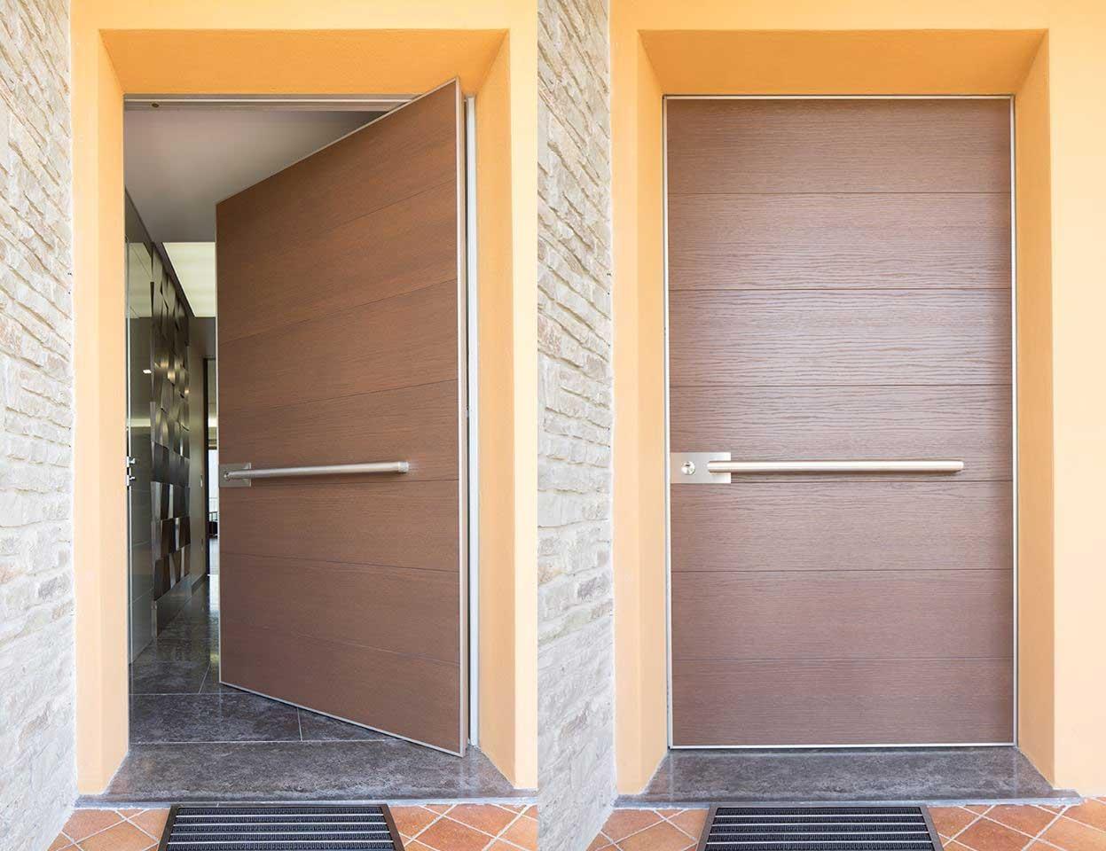 La puerta de la casa de tus sue os timberplan for Puertas italianas interior