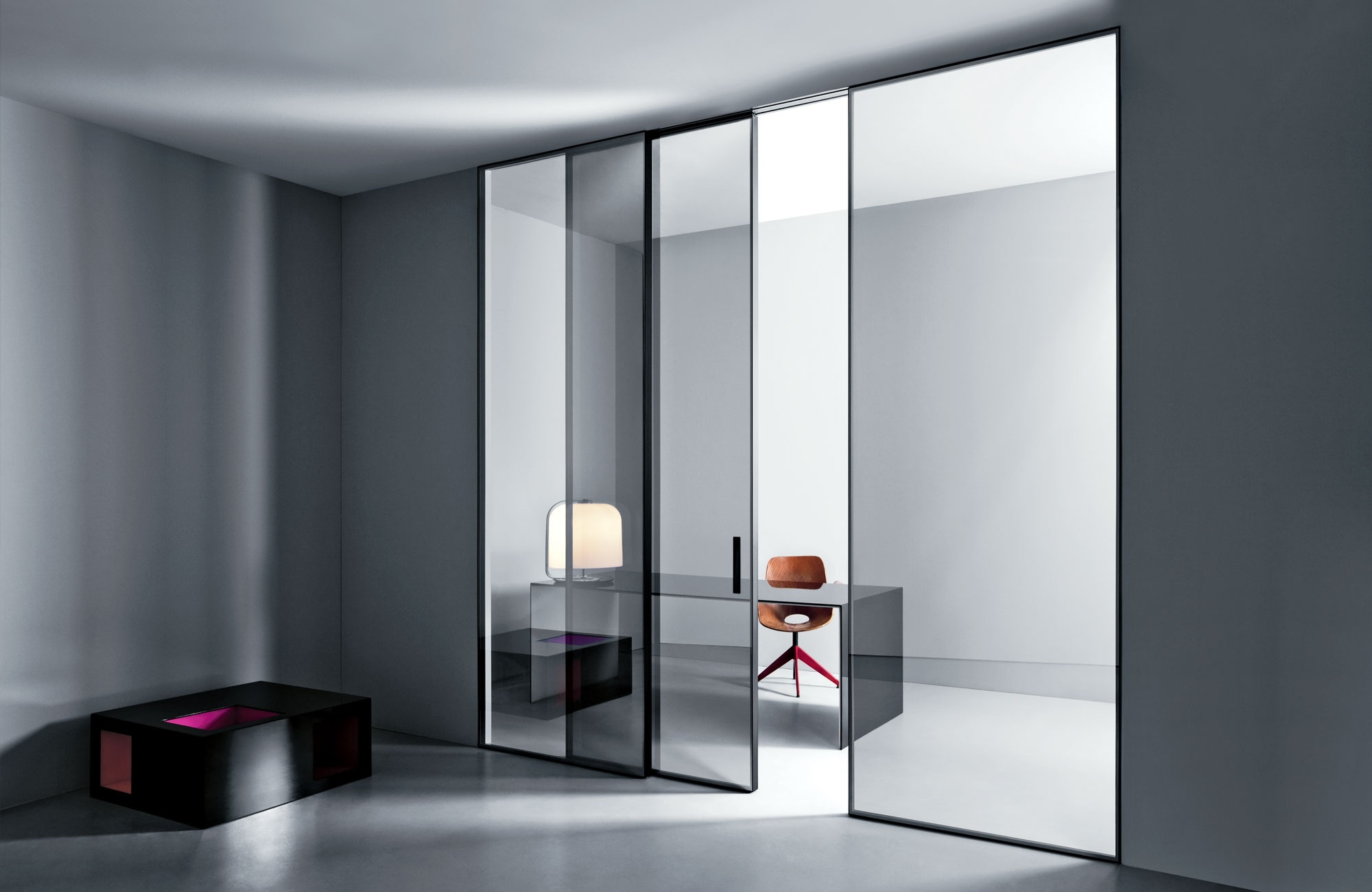 Actualizaci N Del Sistema Shoin De Puertas Correderas De Estilo  ~ Puerta Corredera Cristal Exterior