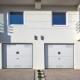 Puerta de garaje Seccional Silvelox 150x150 80x80 c