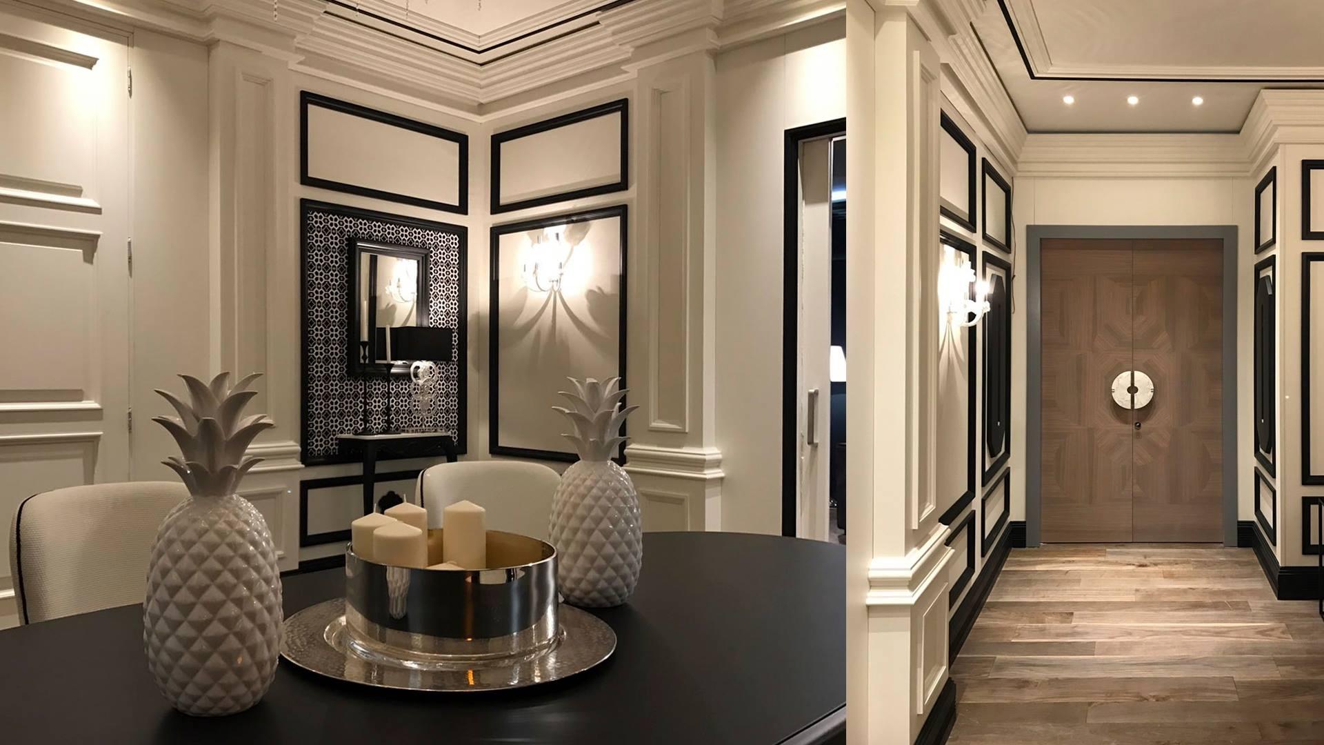 Puertas de lujo para viajar en el tiempo timberplan Estilo clasico diseno de interiores