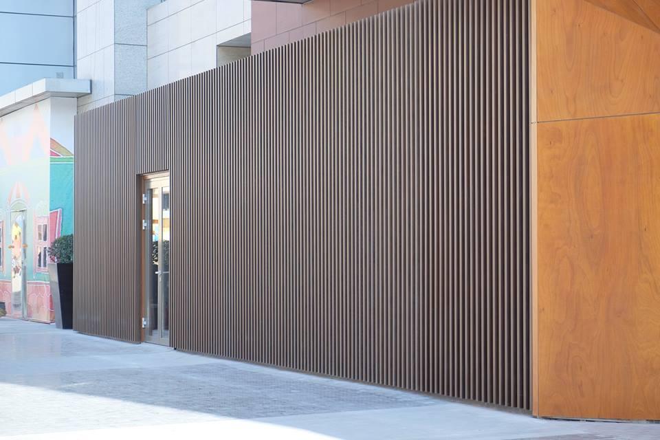 Revestimiento de fachadas con madera 40 ideas timberplan - Tipo de madera para exterior ...
