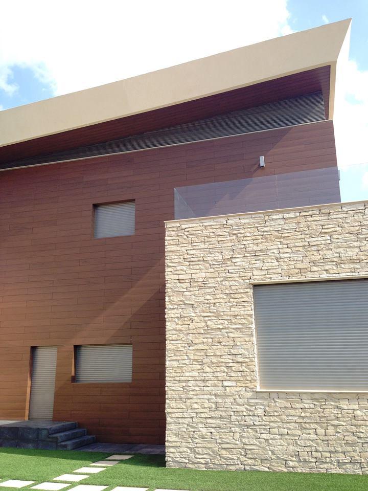 Revestimiento de fachadas con madera 40 ideas timberplan - Revestimientos de fachadas ...